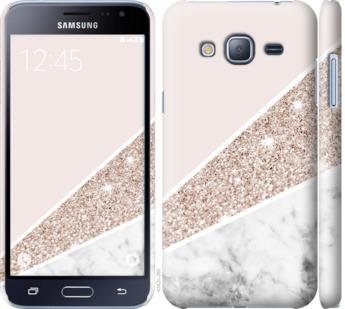 Чехол на Samsung Galaxy J3 Duos (2016) J320H Пастельный мрамор