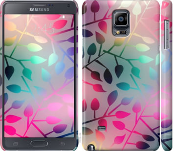 Чехол на Samsung Galaxy Note 4 N910H Листья