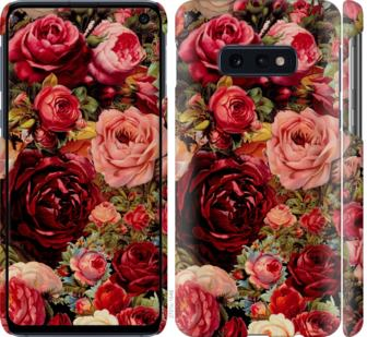Чехол на Samsung Galaxy S10e Цветущие розы