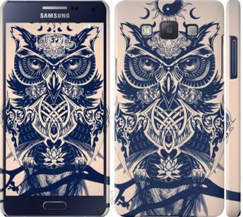 Чехол на Samsung Galaxy A5 A500H Узорчатая сова