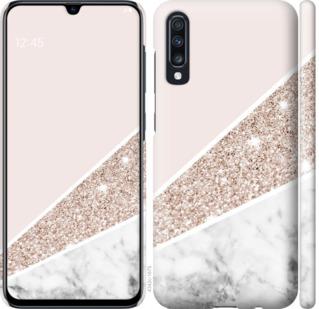 Чехол на Samsung Galaxy A70 2019 A705F Пастельный мрамор
