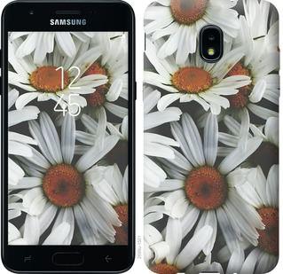 Чехол на Samsung Galaxy J3 2018 Ромашки v2
