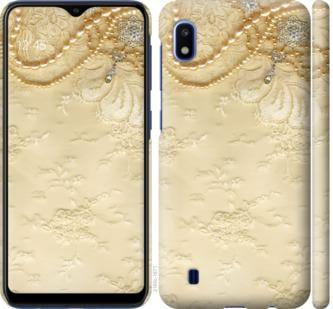 Чехол на Samsung Galaxy A10 2019 A105F Кружевной орнамент