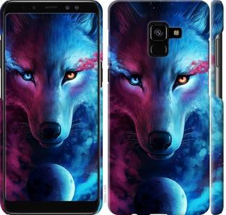 Чехол на Samsung Galaxy A8 Plus 2018 A730F Арт-волк