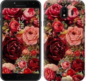 Чехол на Samsung Galaxy J4 2018 Цветущие розы