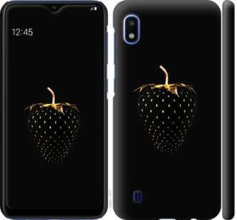 Чехол на Samsung Galaxy A10 2019 A105F Черная клубника