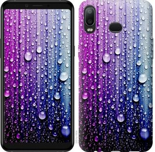 Чехол на Samsung Galaxy A6s Капли воды