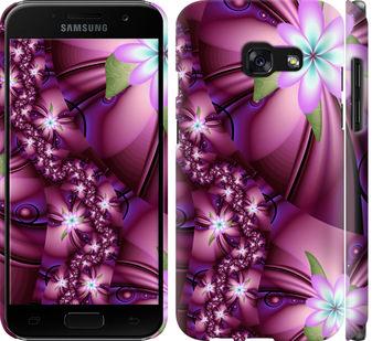 Чехол на Samsung Galaxy A3 (2017) Цветочная мозаика