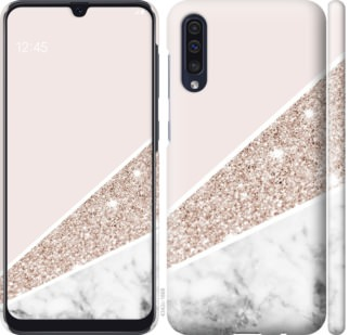 Чехол на Samsung Galaxy A50 2019 A505F Пастельный мрамор