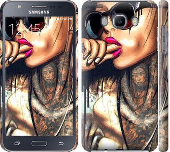 Чехол на Samsung Galaxy J7 (2016) J710F Девушка в тату