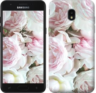 Чехол на Samsung Galaxy J7 2018 Пионы v2