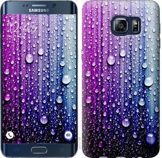 Чехол на Samsung Galaxy S6 Edge Plus G928 Капли воды
