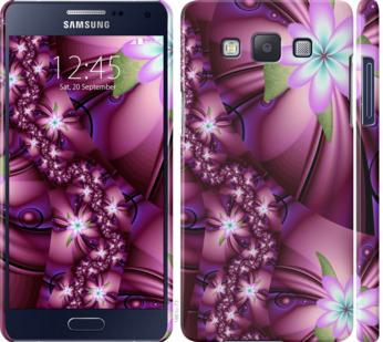 Чехол на Samsung Galaxy A5 A500H Цветочная мозаика