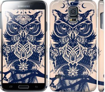 Чехол на Samsung Galaxy S5 g900h Узорчатая сова