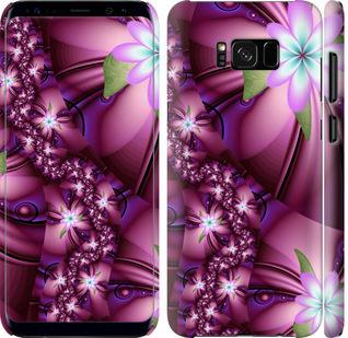 Чехол на Samsung Galaxy S8 Цветочная мозаика