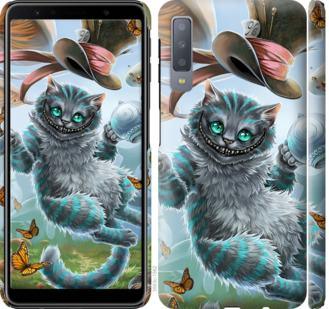 Чехол на Samsung Galaxy A7 (2018) A750F Чеширский кот 2