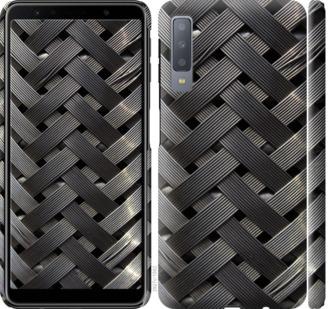Чехол на Samsung Galaxy A7 (2018) A750F Металлические фоны