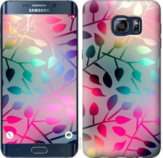 Чехол на Samsung Galaxy S6 Edge Plus G928 Листья