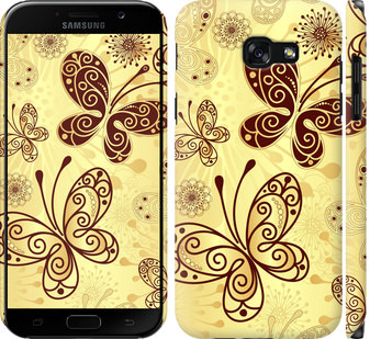 Чехол на Samsung Galaxy A5 (2017) Красивые бабочки
