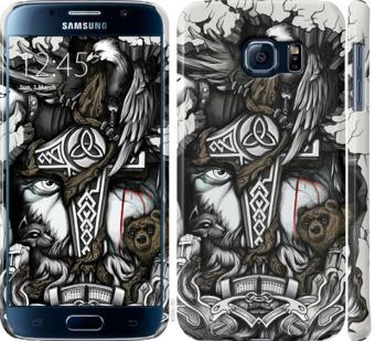 Чехол на Samsung Galaxy S6 G920 Тату Викинг