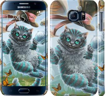 Чехол на Samsung Galaxy S6 G920 Чеширский кот 2