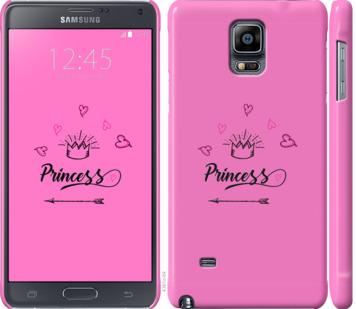 Чехол на Samsung Galaxy Note 4 N910H Princess