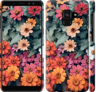 Чехол на Samsung Galaxy A8 2018 A530F Beauty flowers