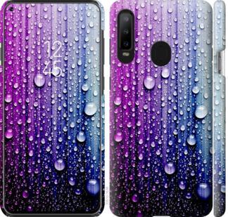 Чехол на Samsung Galaxy A8S Капли воды