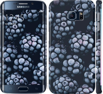 Чехол на Samsung Galaxy S6 Edge G925F Морозная ежевика