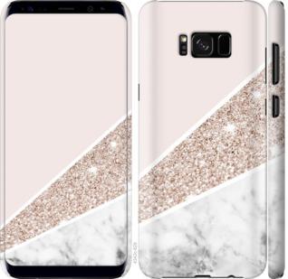 Чехол на Samsung Galaxy S8 Пастельный мрамор