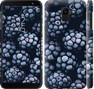 Чехол на Samsung Galaxy J6 2018 Морозная ежевика