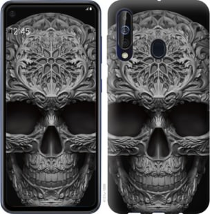 Чехол на Samsung Galaxy A60 2019 A606F skull-ornament