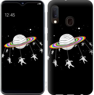 Чехол на Samsung Galaxy A20e A202F Лунная карусель