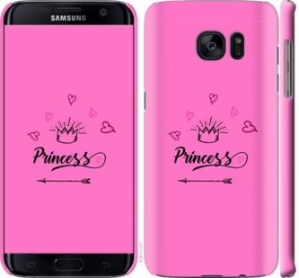 Чехол на Samsung Galaxy S7 Edge G935F Princess