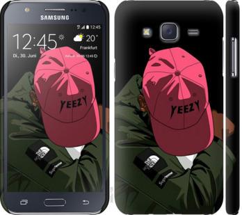 Чехол на Samsung Galaxy J5 (2015) J500H logo de yeezy