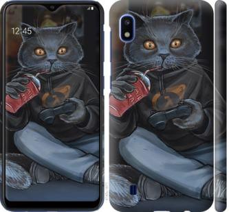 Чехол на Samsung Galaxy A10 2019 A105F gamer cat