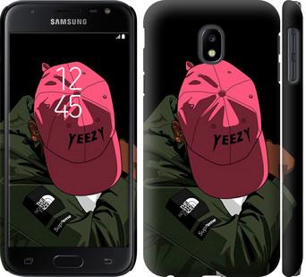 Чехол на Samsung Galaxy J3 (2017) logo de yeezy