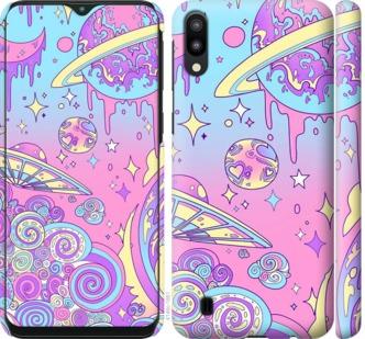 Чехол на Samsung Galaxy M10 Розовая галактика