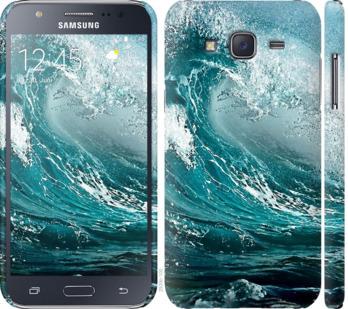 Чехол на Samsung Galaxy J5 (2015) J500H Морская волна