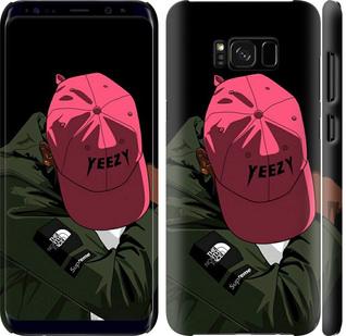 Чехол на Samsung Galaxy S8 Plus logo de yeezy