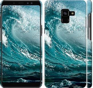 Чехол на Samsung Galaxy A8 Plus 2018 A730F Морская волна