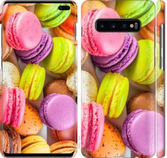 Чехол на Samsung Galaxy S10 Plus Макаруны