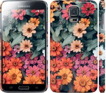 Чехол на Samsung Galaxy S5 g900h Beauty flowers