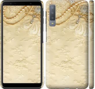 Чехол на Samsung Galaxy A7 (2018) A750F Кружевной орнамент
