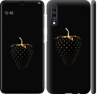 Чехол на Samsung Galaxy A70 2019 A705F Черная клубника