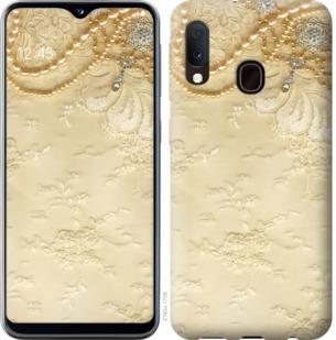 Чехол на Samsung Galaxy A20e A202F Кружевной орнамент
