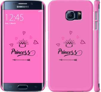 Чехол на Samsung Galaxy S6 Edge G925F Princess