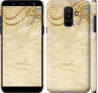 Чехол на Samsung Galaxy A6 Plus 2018 Кружевной орнамент