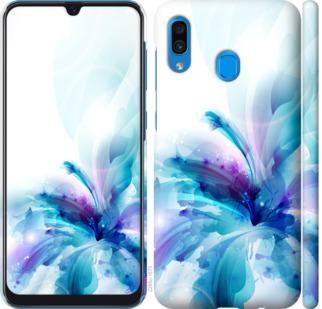 Чехол на Samsung Galaxy A20 2019 A205F цветок