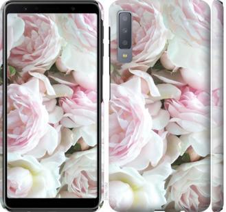 Чехол на Samsung Galaxy A7 (2018) A750F Пионы v2
